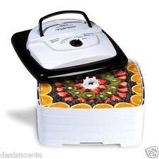 700 Watt Square SnackMaster Food and Jerky Dehydrator thermostat Fruit Jerky Veg