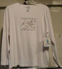 ERIN LONDON Womens CITY LIGHTS white top NWT S, SMALL NWT