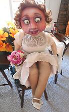 Molly Doll,Life-Size Girl Little Bride Dummy,Original,Prop,Theater,Art,Made USA