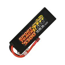 Overlander Sport Track 5300mAh 3S 11.1v 65C LiPo Battery in Hard Case Deans