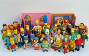 THE SIMPSONS: WORLD OF SPRINGFIELD (WOS) INTERACTIVE FIGURES PLAYSETS PLAYMATES