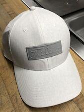 1 New Titleist Fj Pro V1 Golf Hat Color White/Gray
