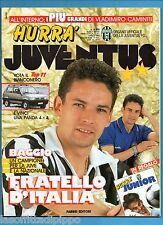 HURRA' JUVENTUS-1992 N.4- BAGGIO - NO HURRA' JUNIOR -NO FASCICOLO JUVE