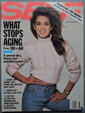 08/1988 SELF magazine CINDY CRAWFORD by Richard AVEDON in like NEW condition