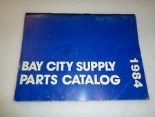 Bay City Snowmobile Parts And Accessories Catalog