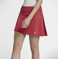 New Nike Golf Skort Tennis Skirt 884894-691 Women Medium Tropical Pink Pleats