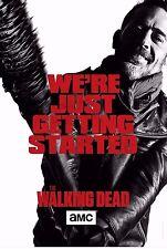 The Walking Dead Season 7 TV Poster (24x36) - Rick Grimes, Daryl, Negan