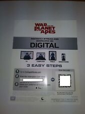 War for the Planet of the Apes - Digital Code Only