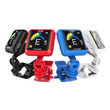 Rechargeable Clip-on Guitar Tuner Color Screen with Built-in Battery Free Shipp
