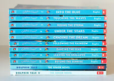 Lot of 11 DOLPHIN DIARIES & Dolphin Tale Series Set of Chapter Books - Ages 8-12