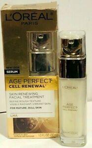 Loreal Age Perfect Cell Renewal Skin Renewing Facial Treatment Serum MATURE SKIN