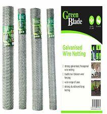 Galvanised Wire Chicken Netting Mesh Hexagonal Fencing Net Rabbit Aviary Pets