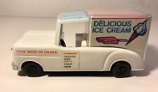 Vintage Plastic Jimson Friction Delicious Ice Cream Truck Toy HK
