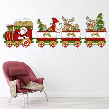 Santa Train Christmas Express Wall Sticker WS-47129