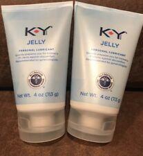 K-Y KY Jelly Personal Lubricant 4 oz (2 pack) FREE SHIPPING!