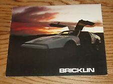 Original 1975 Bricklin Sales Brochure 75