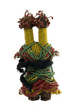 Poupee Ham Pilu Fali Statue Africaine Cameroun Perles Africaines   -951 G3