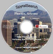 AZ - Phoenix & Area 1968 Phone Book CD