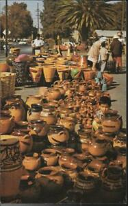AIRLINE ISSUE POSTCARDS - QANTAS - POTTERY MANUFACTURE