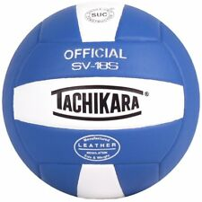 Tachikara Institutional Quality Composite Leather Volleyball in Royal-White New