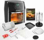 12.7QT1700W Electric Air Fryer Toaster Rotisserie Oven w/LED Digital Touchscreen photo