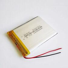 3.7V 1800mAh Li Po Battery For MP4 MP5 GPS PAD Camera Speaker Cell Phone 504760