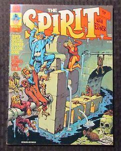 1974 THE SPIRIT Warren Magazine #4 FVF 7.0 Author F. Paul Wilson FPW Collection