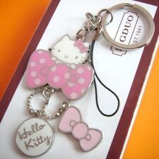 Hello Kitty Keychain Cute Key Chain Ring Fashion Cartoon Keyring Gift