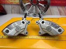 00-18 Harley CVO Brembo Front Brake Calipers Banjo Bolts/Bleeders Touring V-Rod