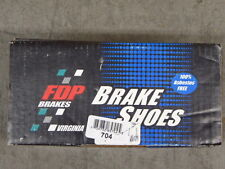 BRAND NEW FDP REAR BRAKE SHOES 704 FITS VEHICLES LISTED ON CHART