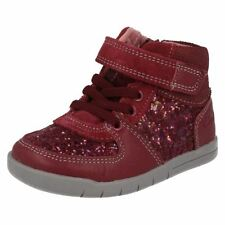 Clarks Boots Synthetic Shoes for Girls