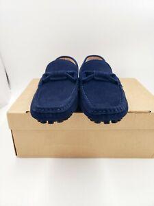 Fashion Mens Slip On Suede  Comfort Loafers-Antiskid US6.5