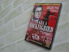 TO KILL A MOCKINGBIRD- GREGORY PECK- REGION ALL / 4 PAL DVD- Black & White