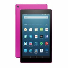 "Kindle Fire HD 8 Tablet with Alexa, 8"" HD Display, 32GB, Magenta 6th Gen 2017"