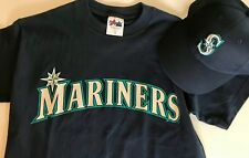 MLB Seattle Mariners Youth Gift Set: T Shirt and Cap