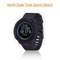 North Edge TANK Digital Waterproof Function Mens Sport Watch Display For Riding