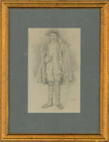 Early 20th Century Graphite Drawing - The Injured Soldier