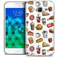 Coque Crystal Pour Samsung Galaxy Core Prime (G360) Extra Fine Rigide Foodie Fas