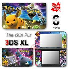 Pokemon NEW VINYL SKIN STICKER DECAL COVER for Nintendo 3DS XL