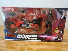 GI Joe Classified BARONESS with Cobra COIL Target Exclusive MISB