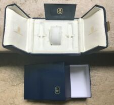 Harry Winston Leather watch box (Inner+Outer), SuperRare caja ecrin case