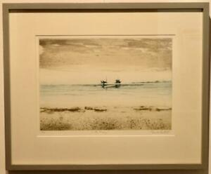 CHARLES BARTLETT R.E. (1921-2014) limited edition FRAMED ETCHING pencil signed