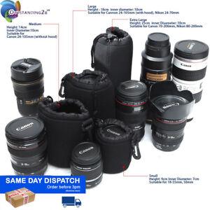 Waterproof Neoprene DSLR Camera Soft Lens Carry Case Bag Pouch - S M L XL