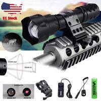 Zoomable Illuminator 850nm/940nm 7W/10W Infrared IR Night Vision LED Flashlight