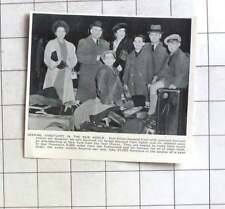1938 German Jewish Art Designer Paul Simon, Family Leave Germany For New York