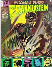 CASTLE OF FRANKENSTEIN 15 HORROR MAGAZINE FRANK BRUNNER COMIC LITTLE NEMO