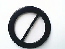 """2"""" - Resin round belt buckle and scarf buckle dual use  (Pack of 5 Pieces)"""