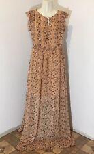 Xhilaration Women's Floor Length Sleeveless Size M Medium Slit Side Dress