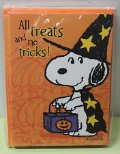 10 SNOOPY HALLOWEEN PARTY INVITATIONS Peanuts Invites Hallmark Cute Cards NEW