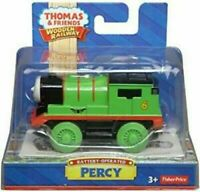THOMAS & FRIENDS Wooden Railway ☆ PERCY ☆ FISHER PRICE DIE CAST ►NEW MISB◄